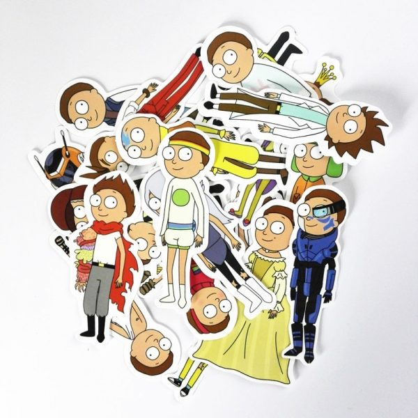 NEW 30Pcs/lot Morty Smith Sticker [ Pack of 3 ]
