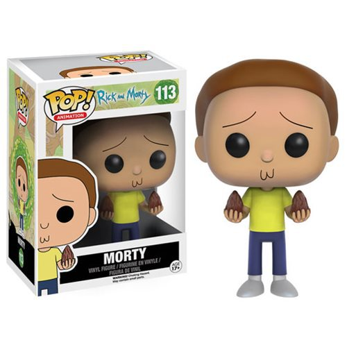 Morty Smith Cute Poop Action Figure