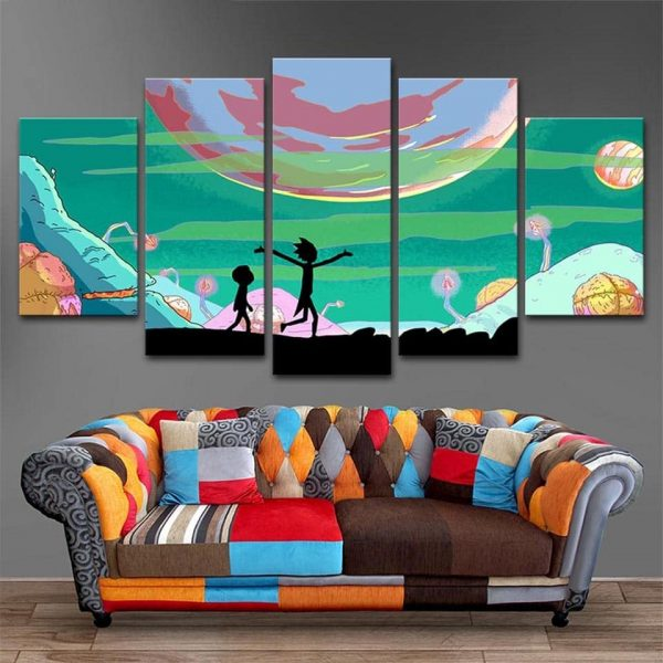 Home Decor Rick And Morty Cool Wallpapers