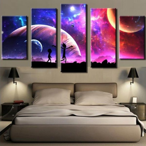 Galaxy Sky Rick And Morty Cool Wallpapers