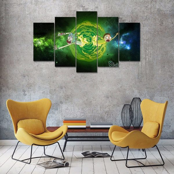Unique Rick And Morty Paintings Wallpapers