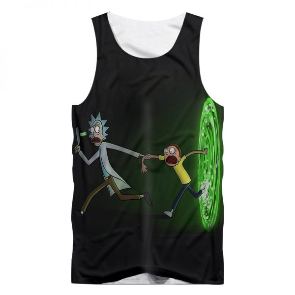 Hot Sale Animation Rick And Morty Tank Tops