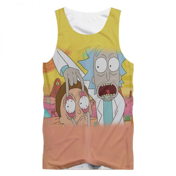 Rick And Morty Cool Summer Tank Tops