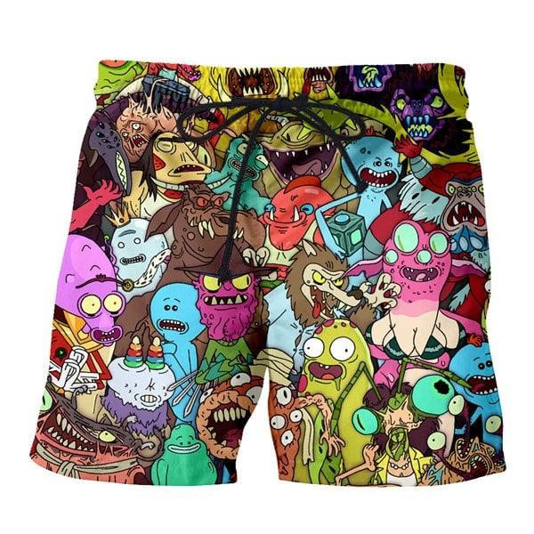 Rick And Morty Style 2020 Boardshorts