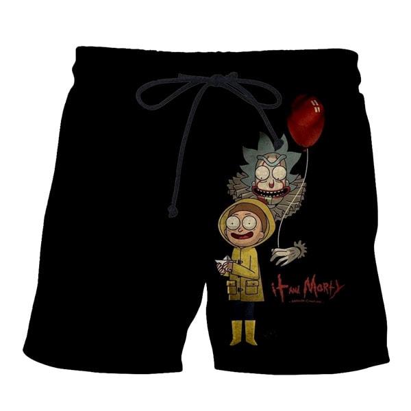 Cute Rick And Morty Boardshorts