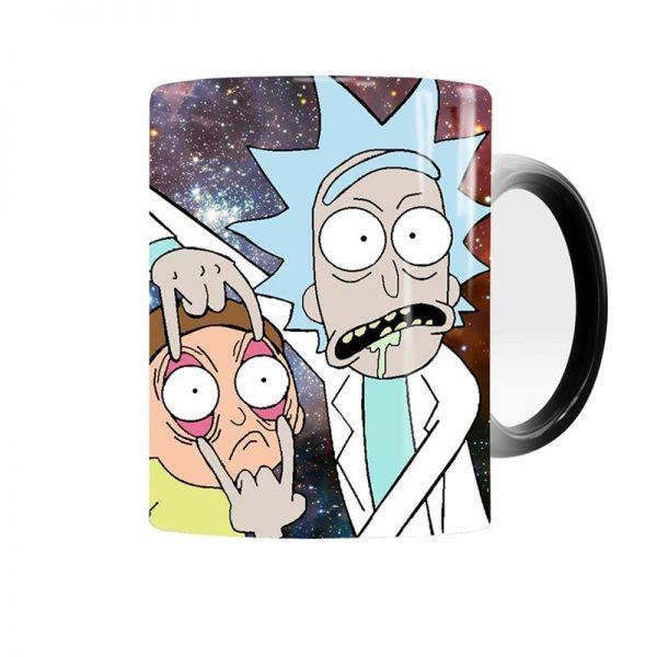 Magic Rick and Morty Mug Changing Color Mug