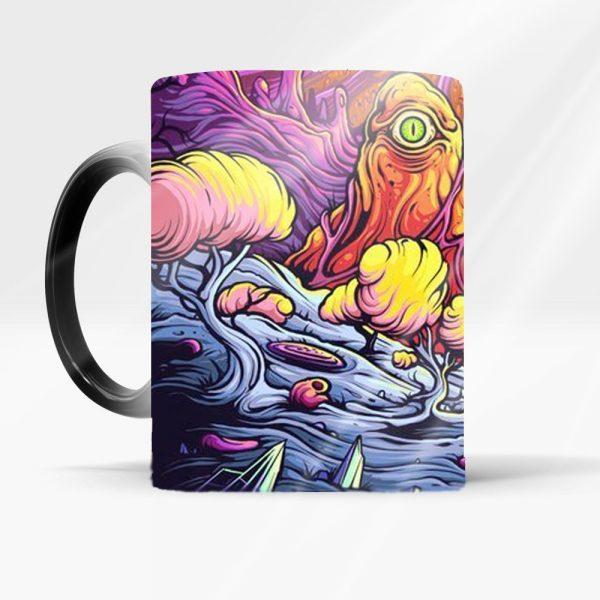 Color Changing Sensitive Rick And Morty Mug