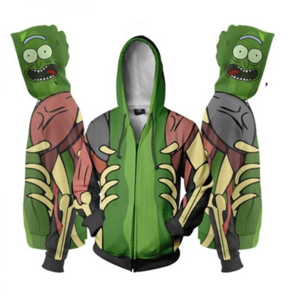 Rick and Morty Cool 3D Print Jacket