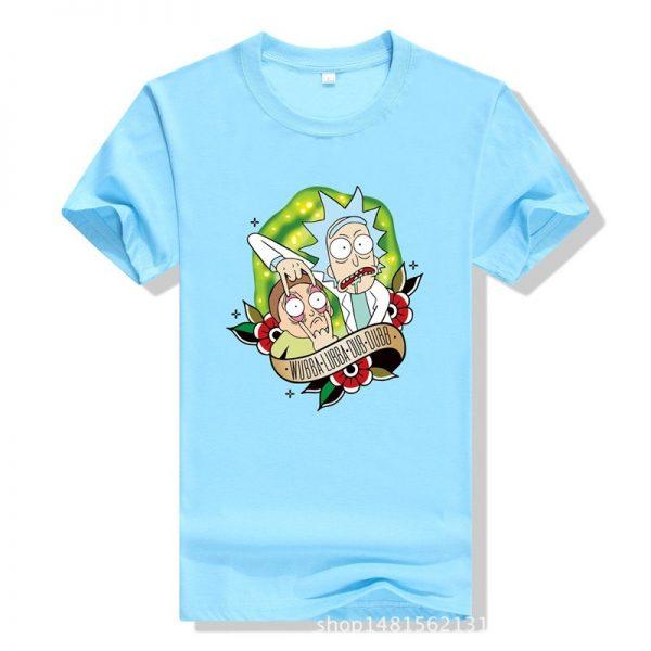 New Cool Rick Morty Summer T-shirt