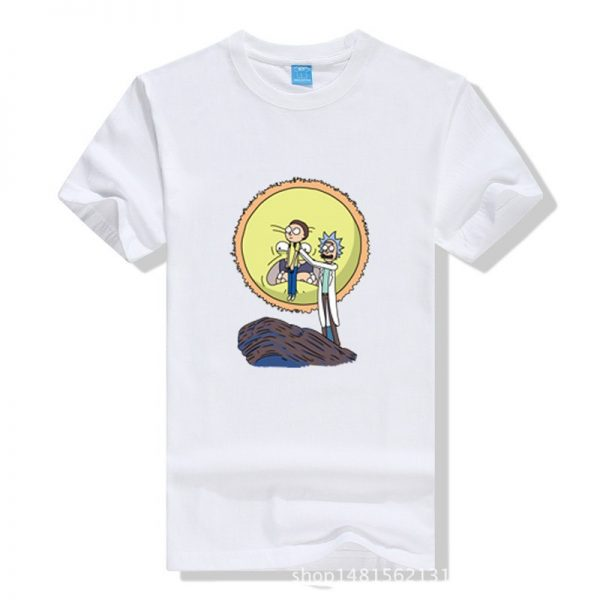 New Arrival Rick And Morty Men T-shirt