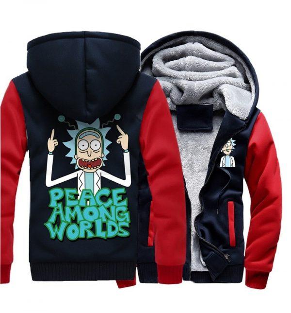 Peace Among Worlds Winter Jacket