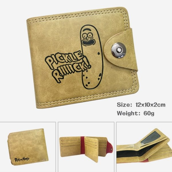 Pickled Cucumber Buckle Wallet