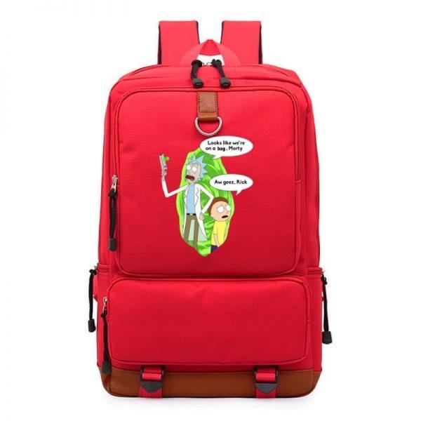 Rick And Morty Cartooon Teen Backpack