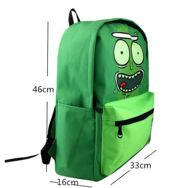 New Pickle Rick Cute Backpack