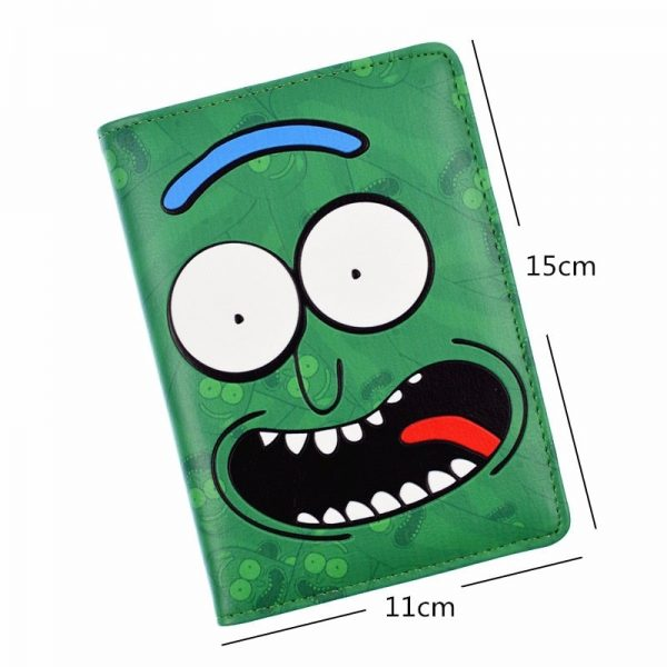 New Arrival Travel Passport Cover Rick And Morty