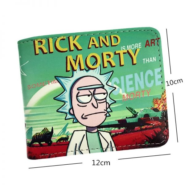 Hot Sell Rick And Morty Anime Cartoon Wallet