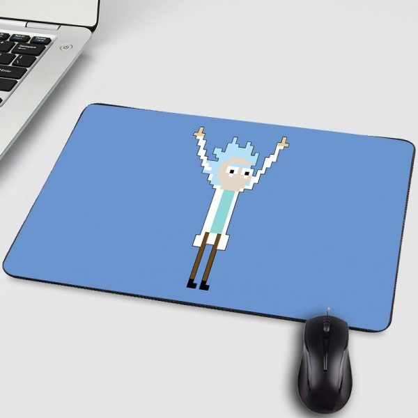 Rick Scientist Small Mouse Pad