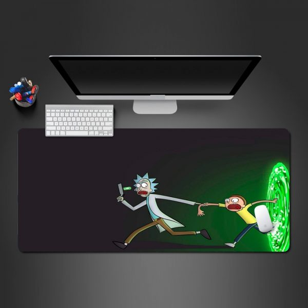 Rick And Morty Play Mat Non-slip Mouse Pad