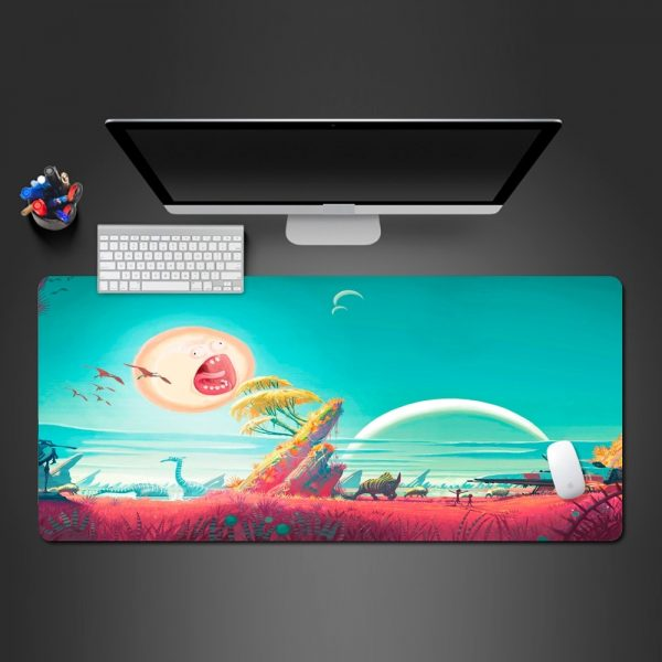 The Sun Rick And Morty Best-selling Mouse Pad
