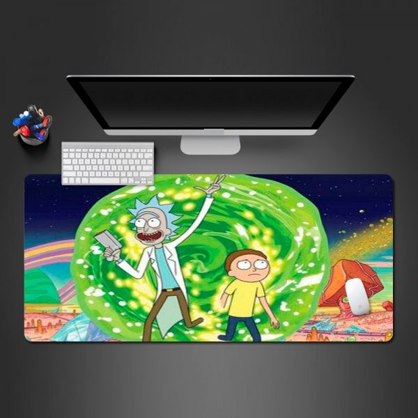Rick And Morty Highlight Mouse pad