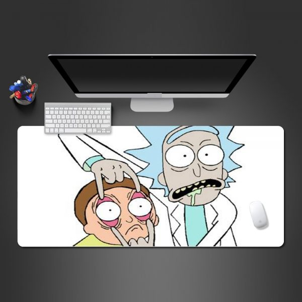 Rick And Morty Delicate Mouse Pad