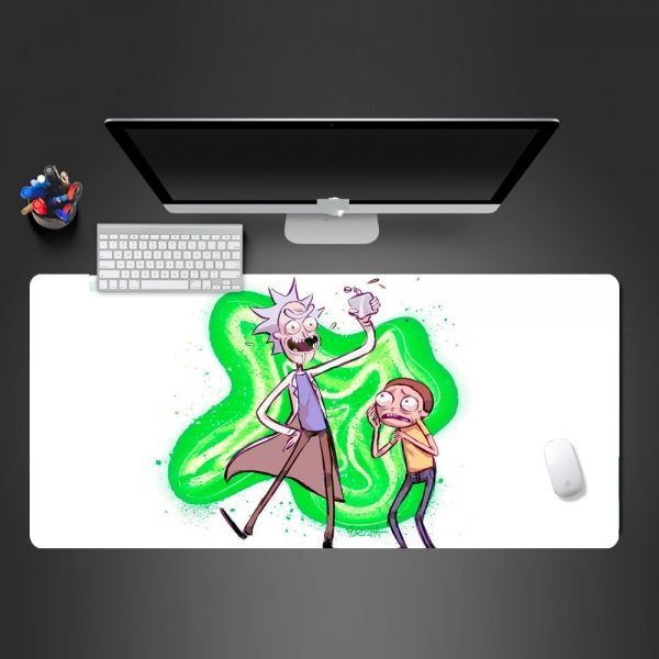 Rick And Morty Funny Mouse Pad