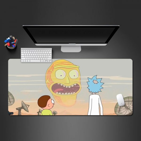 Rick And Morty Super Hot Mouse Pad