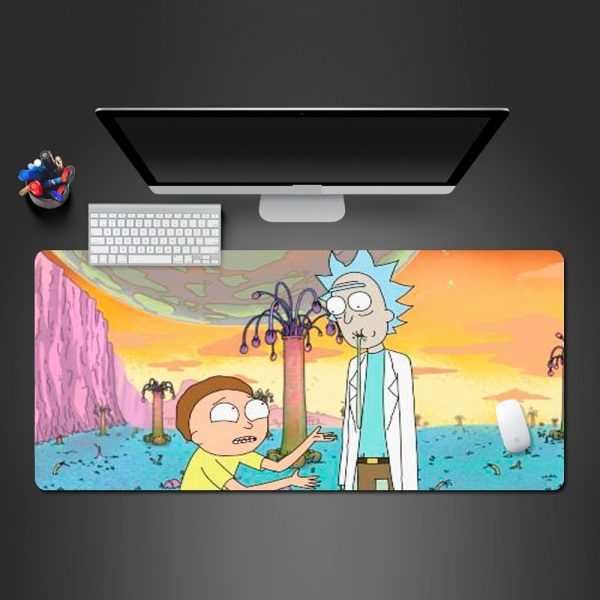 Rick And Morty Hot Anime Mouse Pad