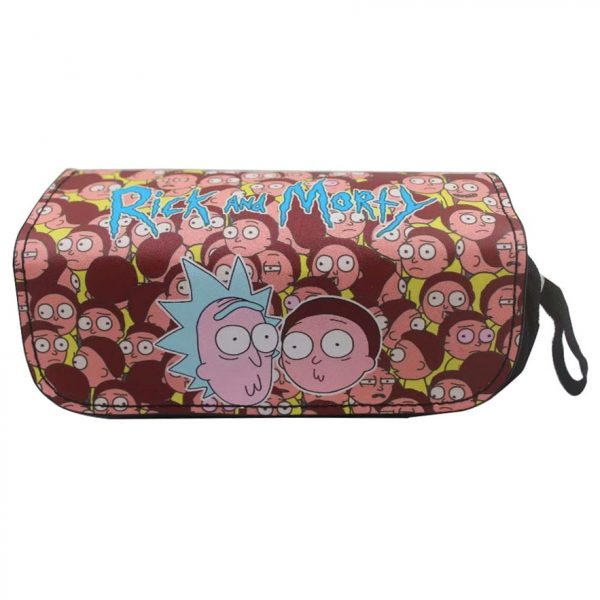 Rick And Morty Cute Pencil Case