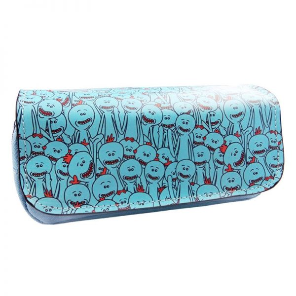 2020 Rick And Morty Blue Wallet Long
