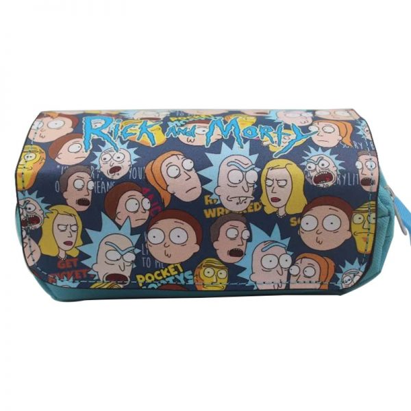 Rick And Morty Characters Pencil Case