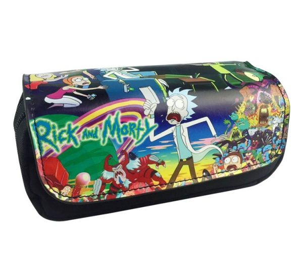 Rick And Morty Theme Pencil Case
