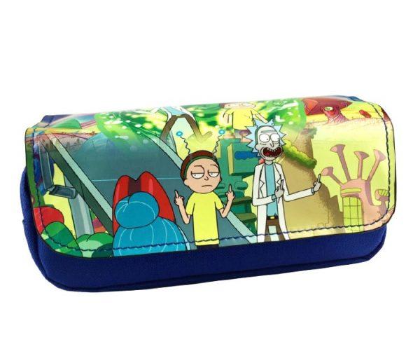 Rick And Morty Cartoon Pencil Case