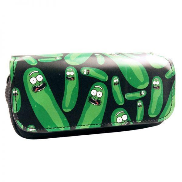 Cute Pickle Ricks Pencil Case
