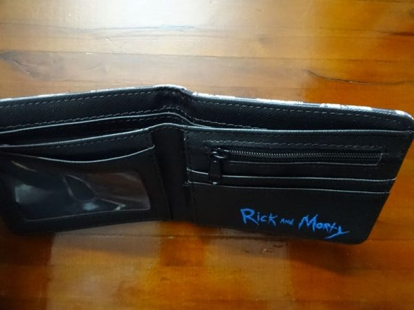 Rick And Morty Happy Face Short Wallet