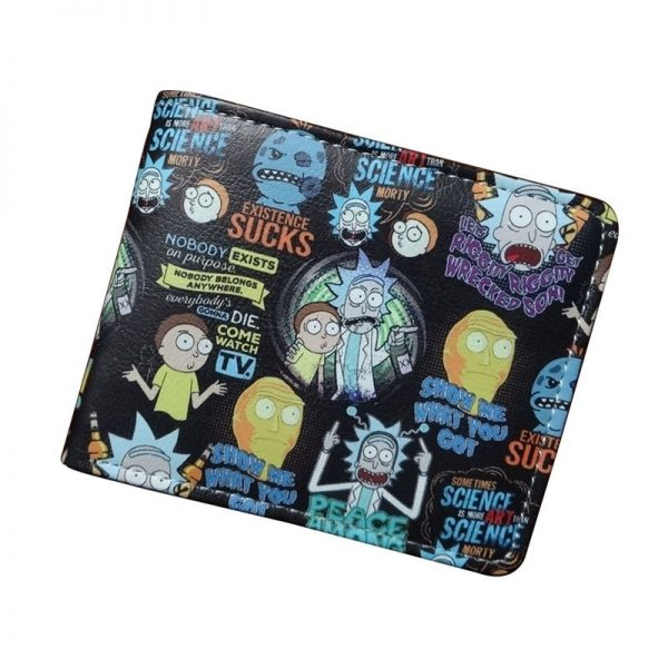 Rick And Morty Extension Suck Short Wallet