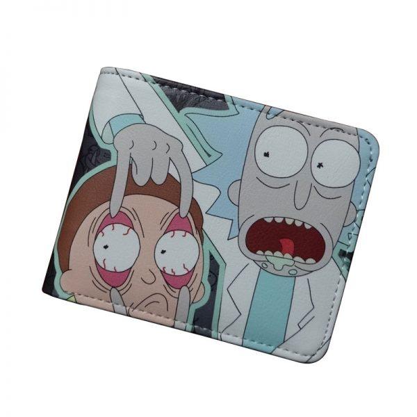 2020 Hot Rick And Morty Black Wallet