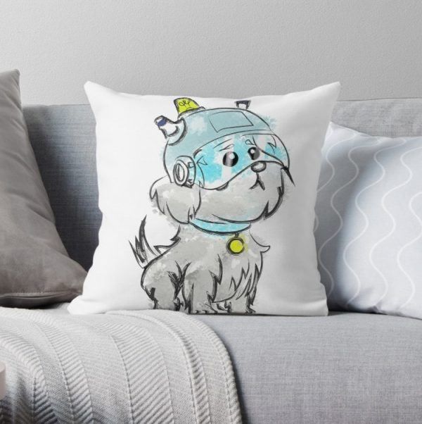Snuffles Was My Slave Name Rick and Morty Pillow Covers