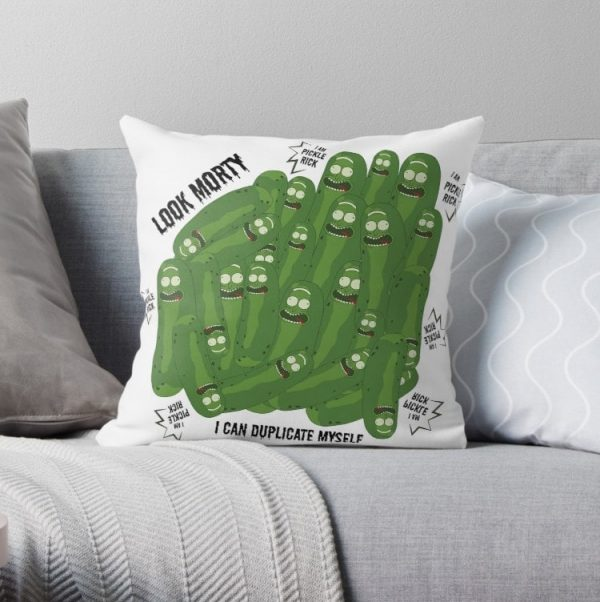 I Am Pickle Rick Pillow Covers