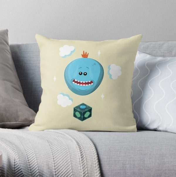 Mr Meeseeks Rick and Morty Pillow Covers Cases