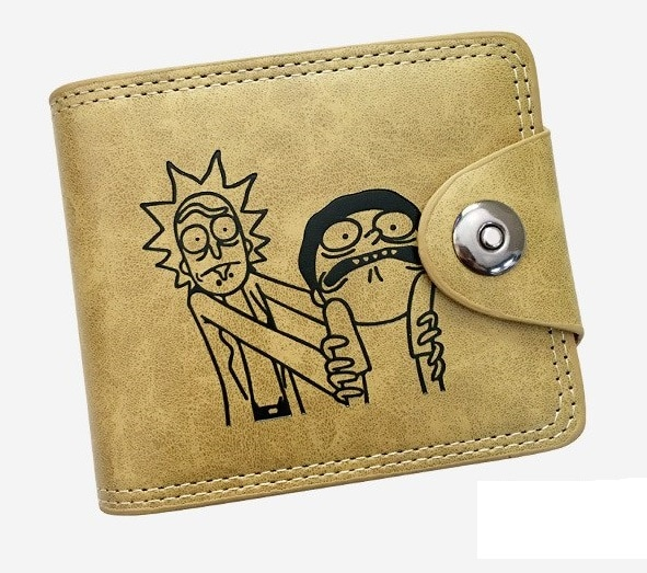 Rick And Morty Buckle Wallets