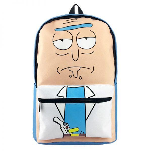 Rick Sanchez Cute Backpack