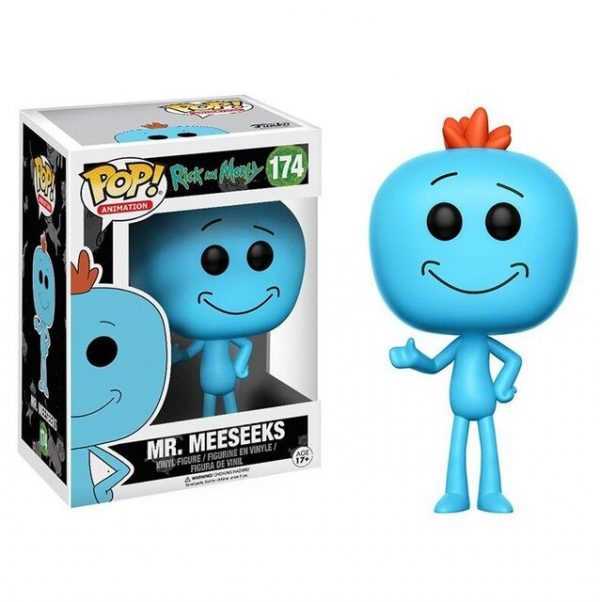 New Mr.MeeSeeks Vinyl Figure