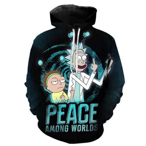 Peace Among Worlds RM 3D Hoodie