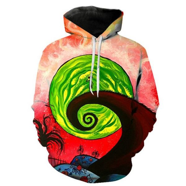 Winter Rick And Morty Hoodie