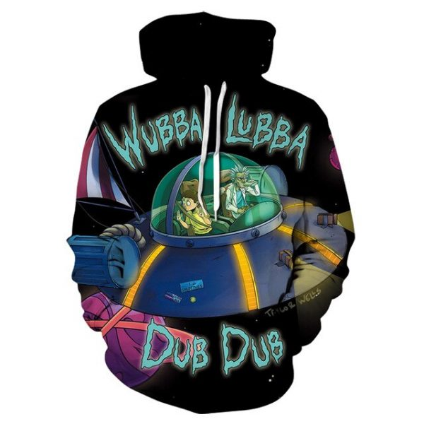 Rick and Morty New 3D Hoodie