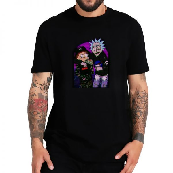 Rick&Morty Luxury Brand T-shirt