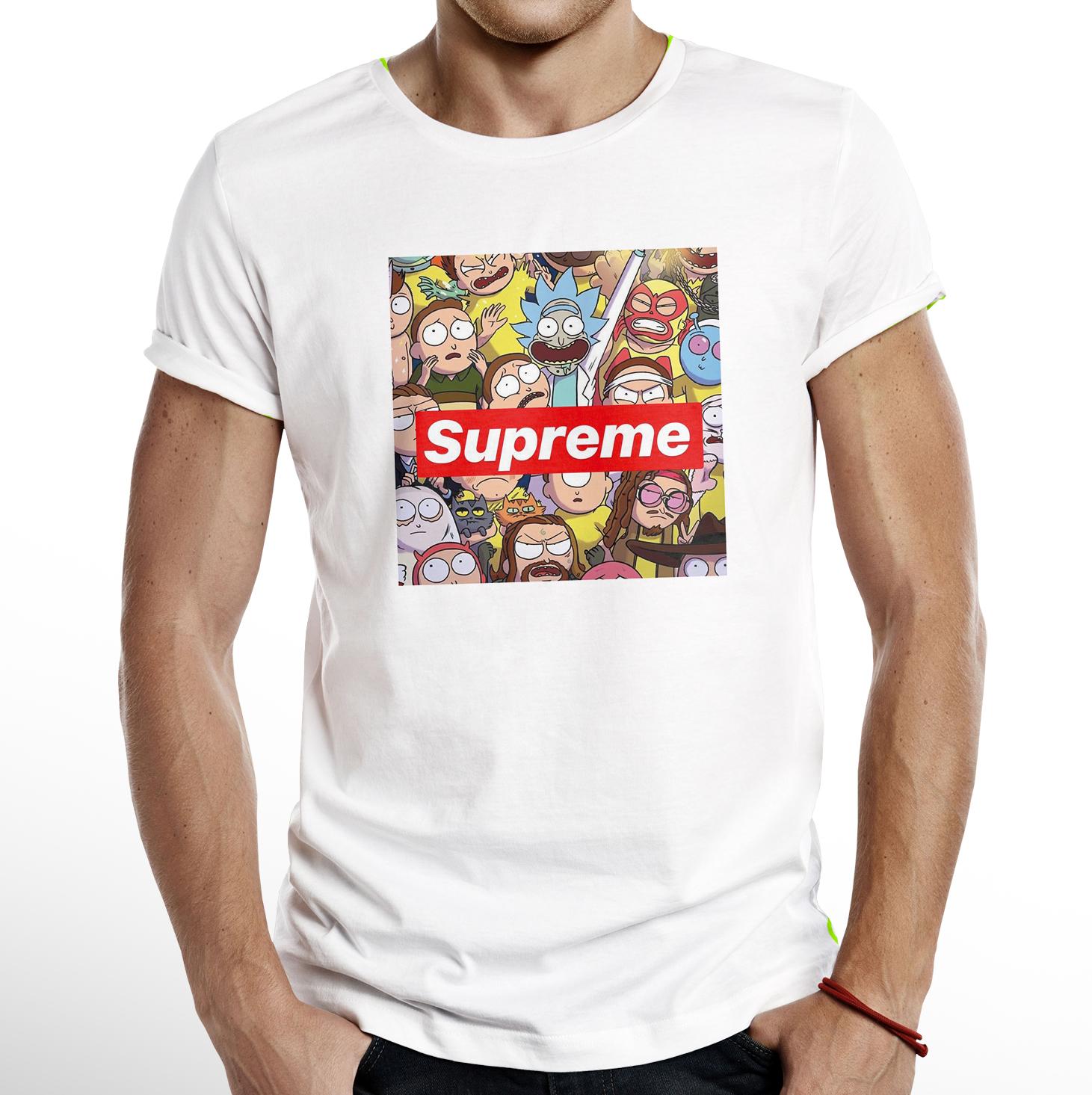 RickaMorty Luxury Brand T-shirt