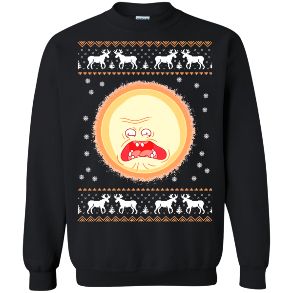 Screaming Sun Merry Christmas Sweatshirt