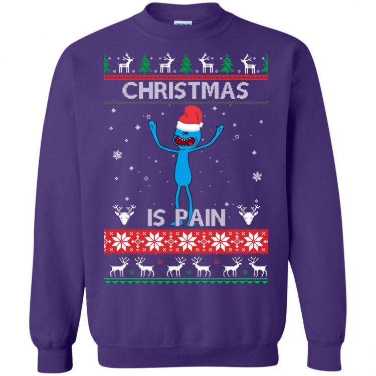 Happy Human Holiday Rick And Morty Sweatshirt